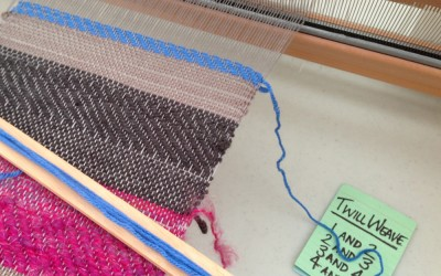 Workshop 1 : Table Weaving